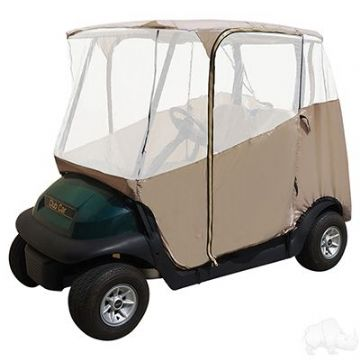 Club Car, RHOX Enclosure, Lightweight 4-Sided w/ Case, Sand